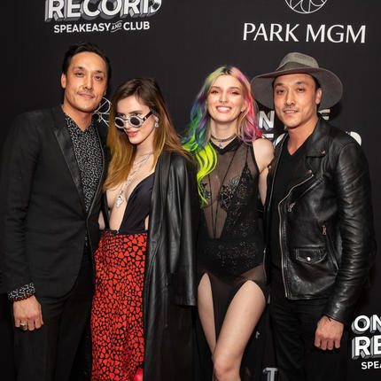 Red Carpet Grand Opening - On The Record